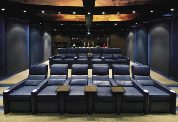 Modern Home Theater Design - Home Design Ideas