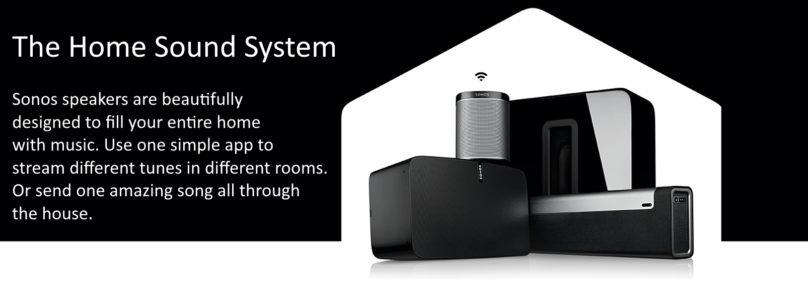 Sonos Whole Home Audio System 2018 Base Electronics All Rights Reserved